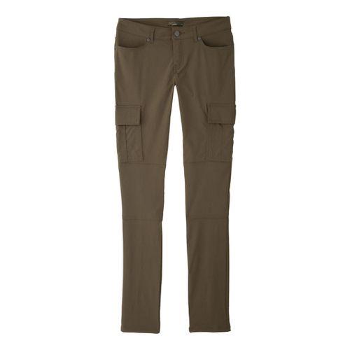 Womens Prana Meme Full Length Pants - Cargo Green 14