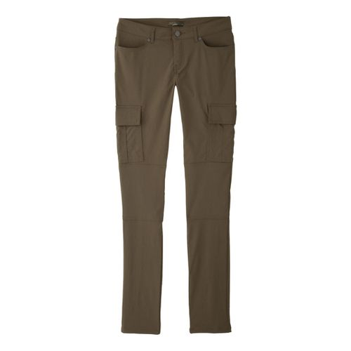 Womens Prana Meme Full Length Pants - Cargo Green 2