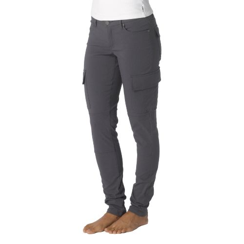 Womens Prana Meme Full Length Pants - Coal 4