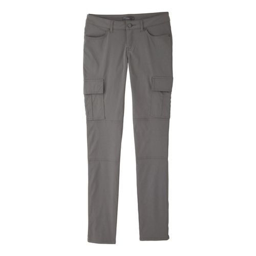Womens Prana Meme Full Length Pants - Gravel 14