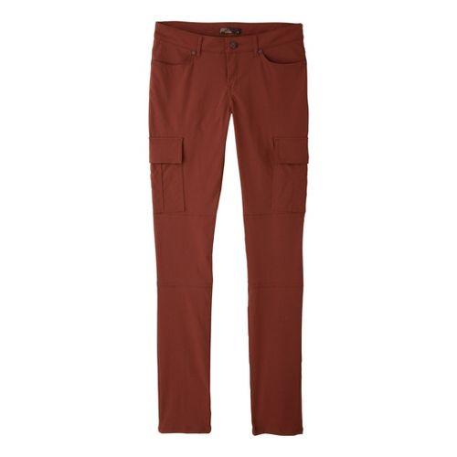 Womens Prana Meme Full Length Pants - Terracotta 12