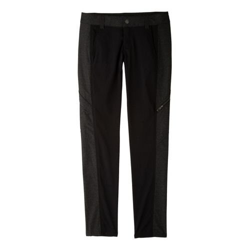 Womens Prana Katina Full Length Pants - Black 10