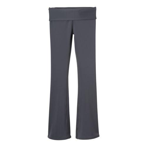 Womens Prana Ruby Full Length Pants - Coal XS
