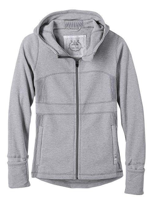 Womens prAna Drea Casual Jackets - Silver M