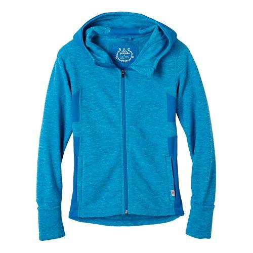 Womens prAna Drea Casual Jackets - Electro Blue XL