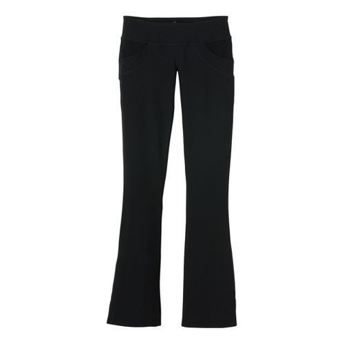 Womens Prana Drew Full Length Pants - Black XS