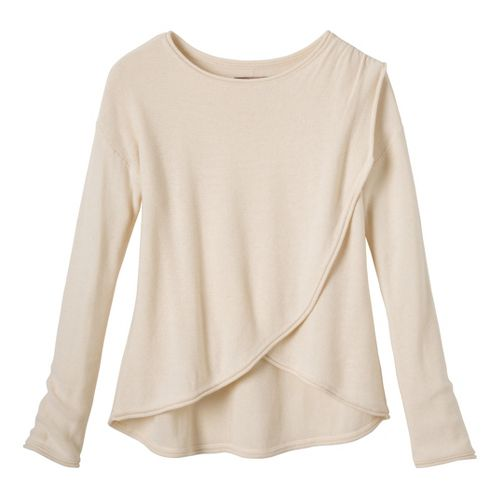 Womens Prana Juliana Sweater Long Sleeve No Zip Technical Tops - Winter L
