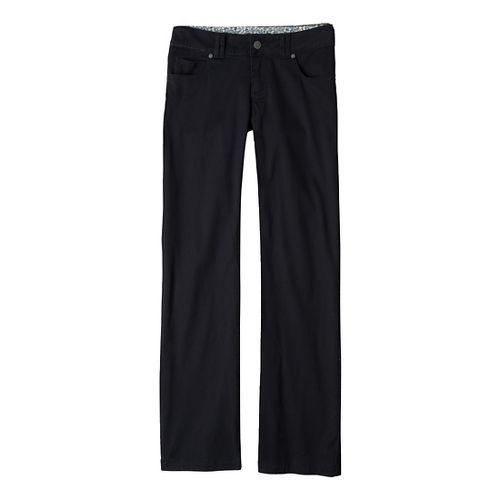 Womens Prana Canyon Cord Full Length Pants - Black 10S