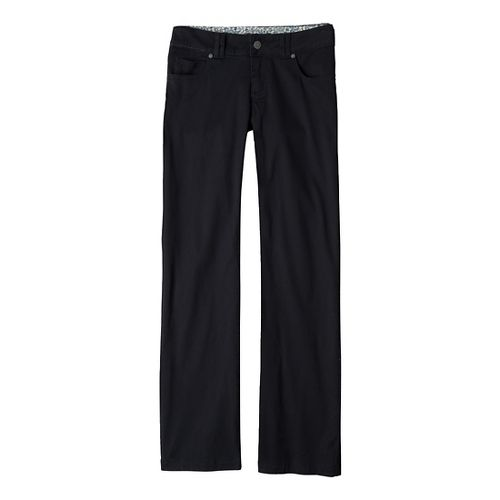 Womens Prana Canyon Cord Full Length Pants - Black 4