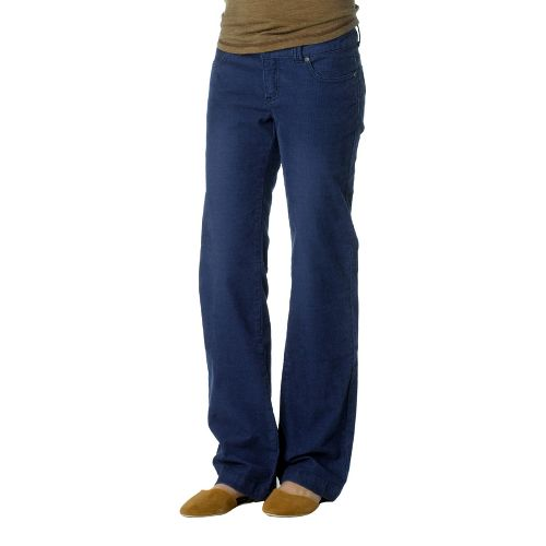 Womens Prana Canyon Cord Full Length Pants - Blue Twilight 6S