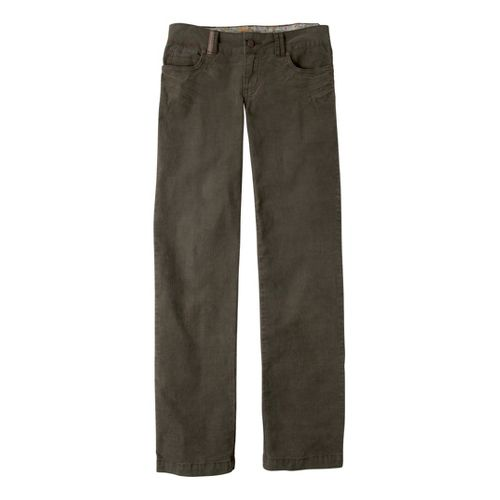 Womens Prana Canyon Cord Full Length Pants - Cargo Green 8S
