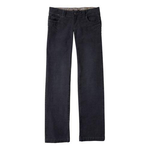 Womens Prana Canyon Cord Full Length Pants - Coal 6S