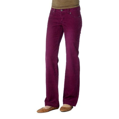 Womens Prana Canyon Cord Full Length Pants - Grapevine 10T