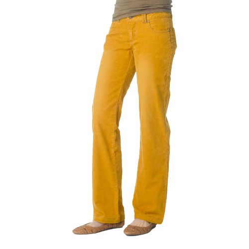 Womens Prana Canyon Cord Full Length Pants - Sahara 12T