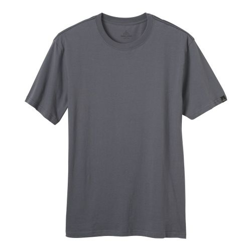 Mens Prana Heritage T Short Sleeve Non-Technical Tops - Gravel XL