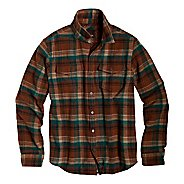 Mens Prana Ryken Flannel Long Sleeve No Zip Technical Tops