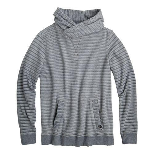Mens Prana Rincon Hoodie Warm-Up Hooded Jackets - Grey XXL