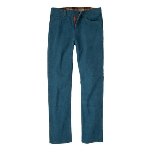 Mens Prana Kravitz Cord Full Length Pants - Blue Jean 36