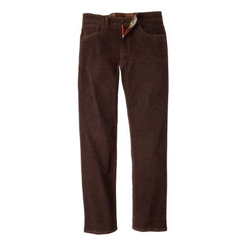 Mens Prana Kravitz Cord Full Length Pants - Espresso 33