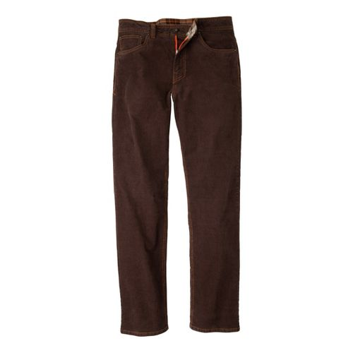 Mens Prana Kravitz Cord Full Length Pants - Espresso 38