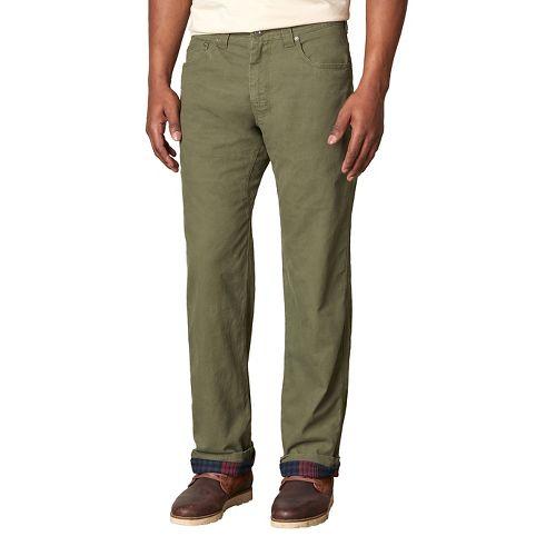 Mens prAna Bronson Lined Pants - Green 34