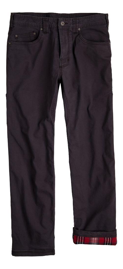 Mens prAna Bronson Lined Pants - Charcoal 38