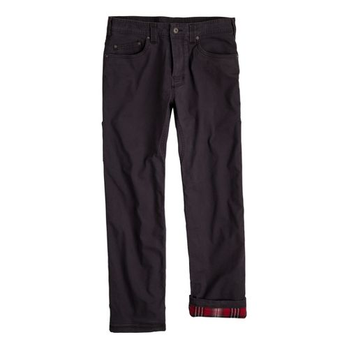Mens Prana Bronson Lined Full Length Pants - Charcoal 36