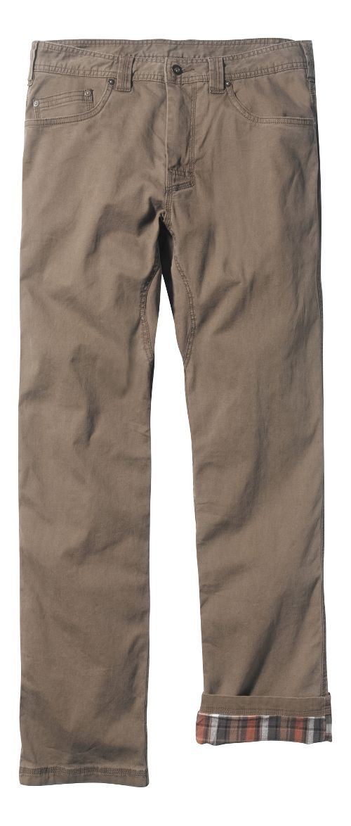 Mens prAna Bronson Lined Pants - Mud 32