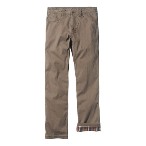 Mens Prana Bronson Lined Full Length Pants - Mud 33