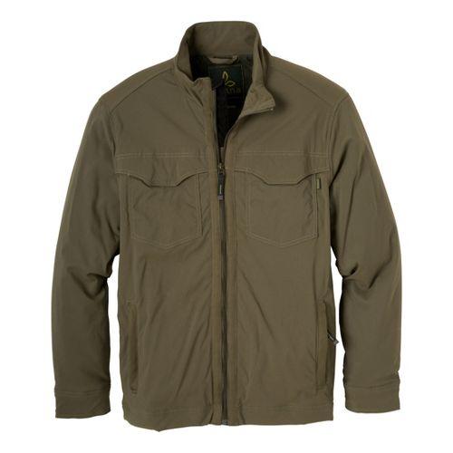 Mens Prana Ogden Outerwear Jackets - Cargo Green L