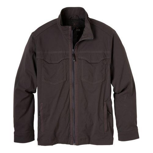 Mens Prana Ogden Outerwear Jackets - Charcoal M