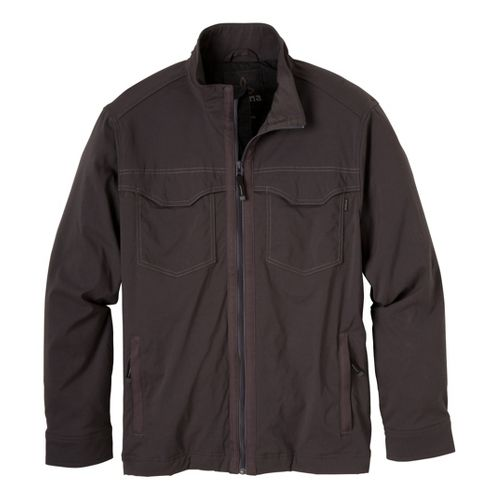 Mens Prana Ogden Outerwear Jackets - Charcoal XL