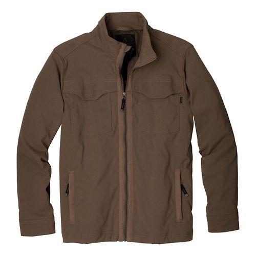 Mens Prana Ogden Outerwear Jackets - Mud XXL