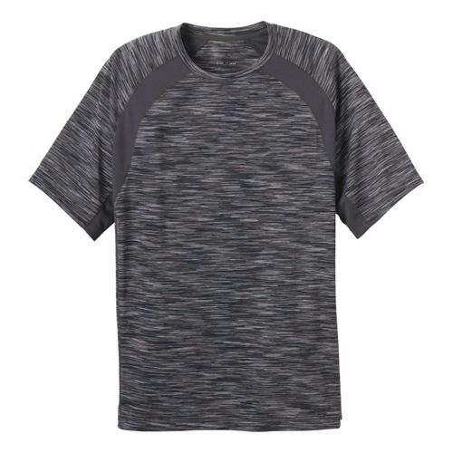 Mens Prana Andy Short Sleeve Technical Tops - Coal L