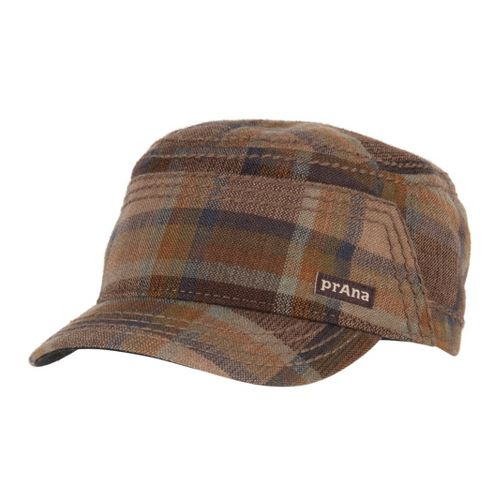 Prana Shae Cadet Headwear - Brown Plaid