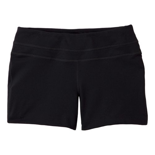 Womens Prana Audrey Unlined Shorts - Black XS