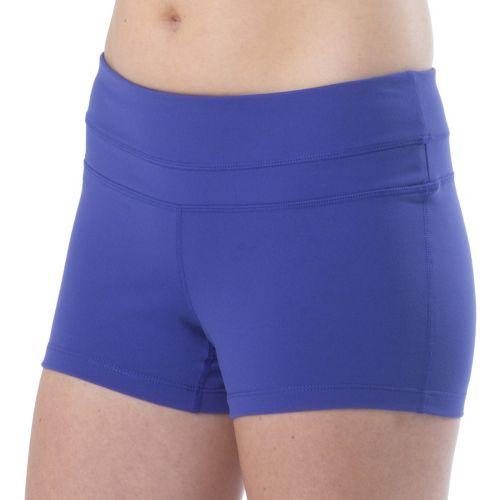 Womens Prana Audrey Unlined Shorts - Sail Blue XS