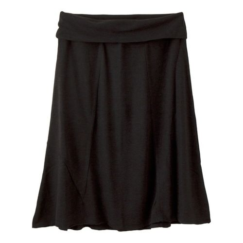 Womens Prana Daphne Fitness Skirts - Black M