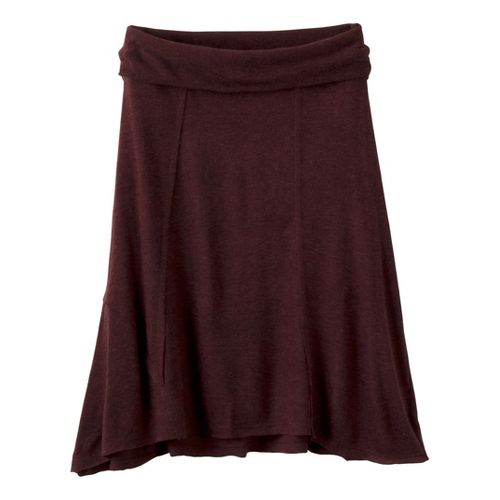 Womens prAna Daphne Fitness Skirts - Brown M
