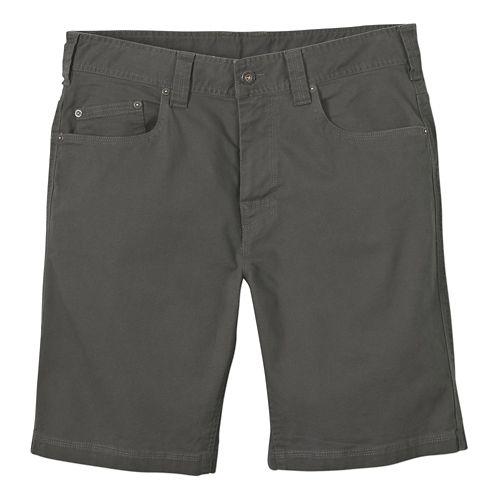 Mens Prana Bronson Unlined Shorts - Pewter 40