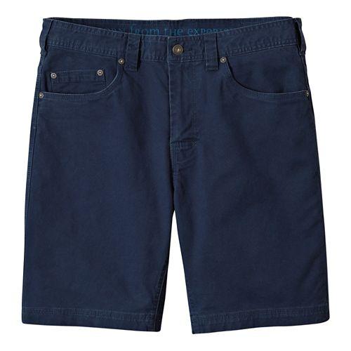 Mens prAna Bronson Unlined Shorts - Nautical 34