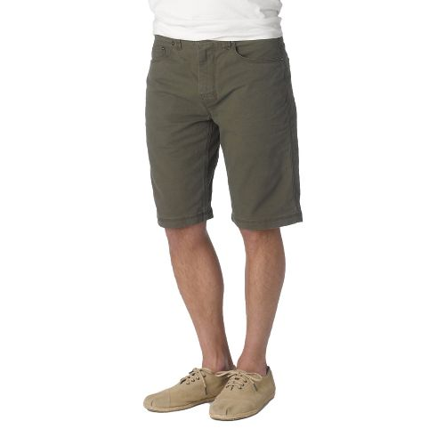 Mens Prana Bronson Unlined Shorts - Cargo Green 32