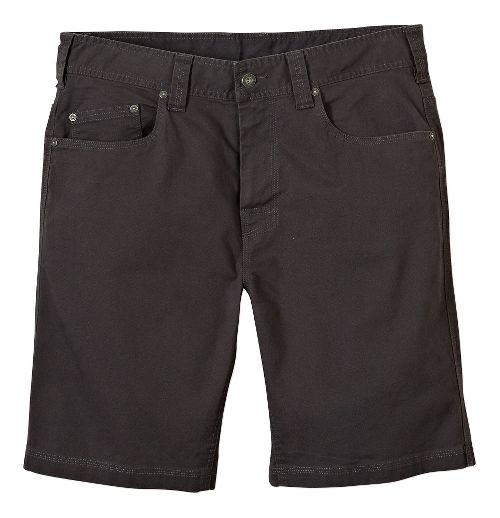 Mens prAna Bronson Unlined Shorts - Charcoal 31