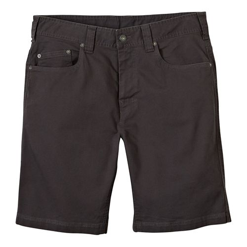Mens prAna Bronson Unlined Shorts - Charcoal 36