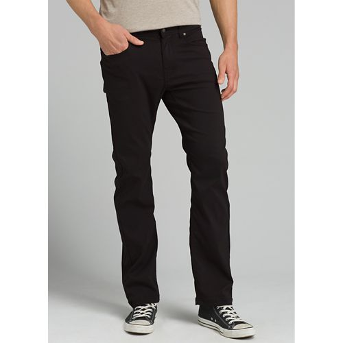 Mens Prana Brion Full Length Pants - Black 40-T