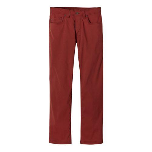 Mens Prana Brion Full Length Pants - Brick 38-R