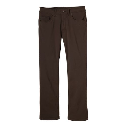 Mens Prana Brion Full Length Pants - Brown 28