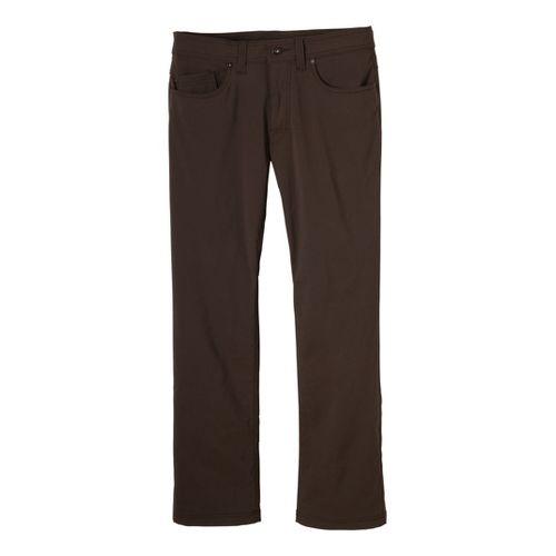 Mens Prana Brion Full Length Pants - Brown 28S