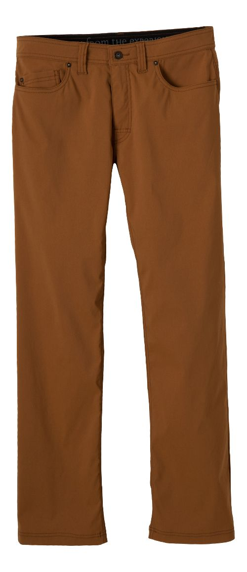 Mens prAna Brion Pants - Dark Ginger 33