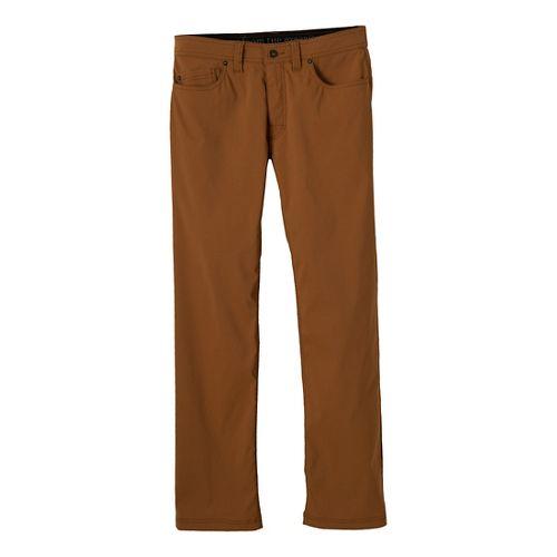 Mens Prana Brion Full Length Pants - Dark Ginger 33